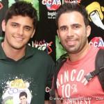 O Ator da Malhação Bruno Gissoni e o Fotógrafo Dawison Pinheiro